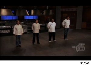 'Top Chef' Contestants Cook Ballpark Food