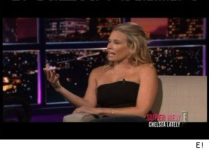 Chelsea Handler Learns That Eli Roth's Girlfriend Is NOT a Stripper