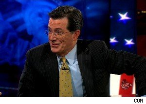 Stephen Colbert Talks With Richard Clarke, Tries to Figure Out If He's a Double Agent?