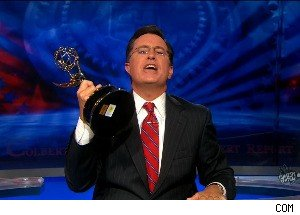 'The Colbert Report' Wins an Emmy - Stephen Takes All the Credit