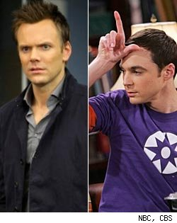 Community and The Big Bang Theory