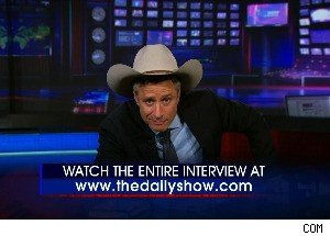 Jon Stewart Gets a New Hat, and Instantly Turns Into a Republican
