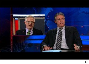 Jon Stewart vs. Glenn Beck; Fighting Over the 'Ground Zero' Mosque