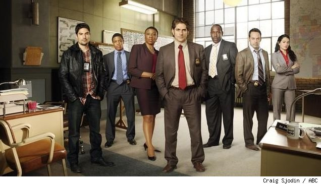 The cast of 'Detroit 1-8-7'
