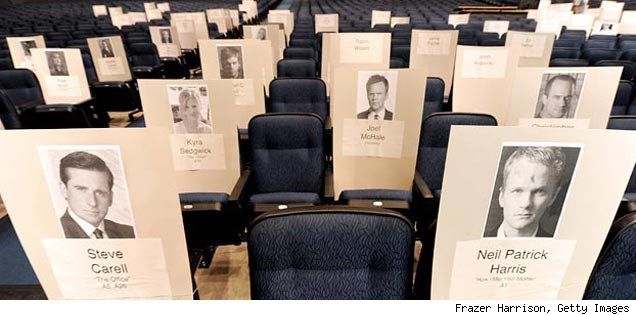 Emmy Award Seats