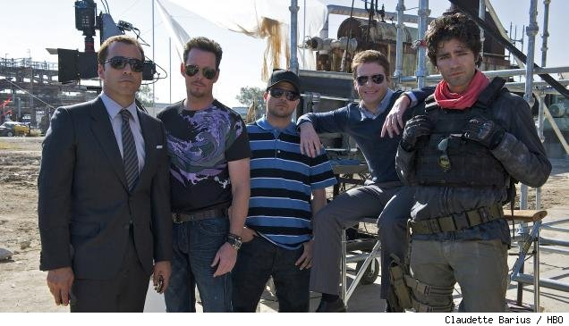 'Entourage' cast: Jeremy Piven, Kevin Dillon, Jerry Ferrara, Kevin Connolly, Adrian Grenier
