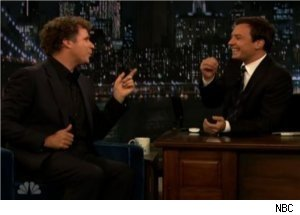 Fallon, Ferrell Do Sketch on 'Late Night'