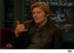 Denis Leary Talks Abby Sunderland on 'Late Night'