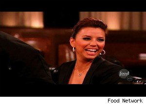Eva Longoria on 'The Next Food Network Star'