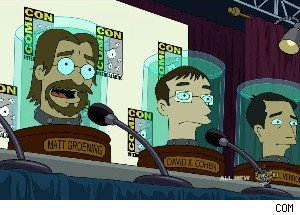 Matt Groening Mocks the Fox Network on 'Futurama'