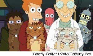 The 'That Darn Katz' episode of 'Futurama'