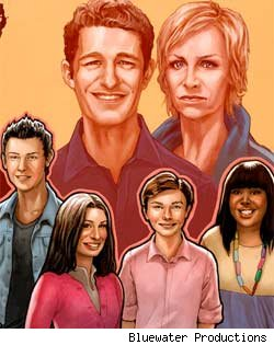 'Glee' Comic Book