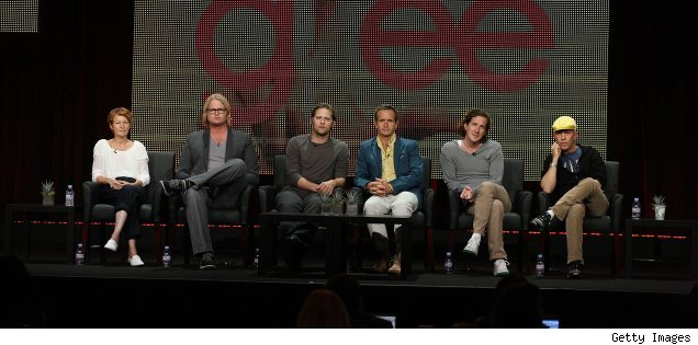 The 'Glee' panel at the Summer 2010 TCAs