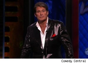 'The Comedy Central Roast': David Hasselhoff
