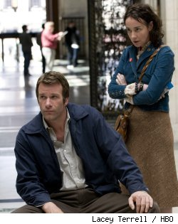 Thomas Jane and Jane Adams in 'Hung' on HBO