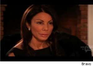 Confrontation Between Danielle and Caroline on NJ 'Housewives'
