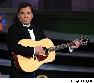 Jimmy Fallon hosts the 2010 Emmy Awards