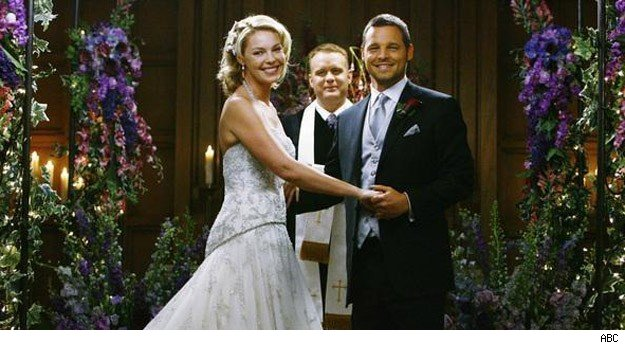 Izzie Alex wedding Grey's Anatomy