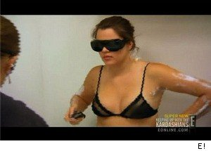 Khloe Kardashian Has Hair Removed From a VERY Private Place