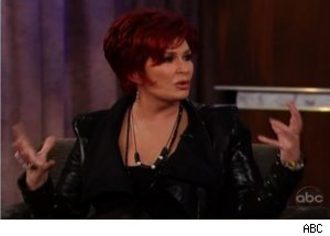 Sharon Osbourne Talks Hasselhoff Roast on 'Jimmy Kimmel Live'