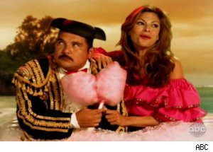 'Kimmel': Guillermo in Fantasy with Eva Mendes