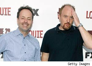 Jon Landgraf and Louie CK