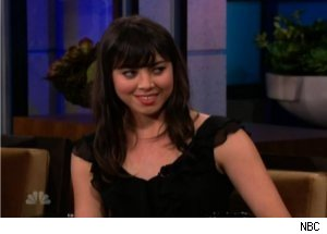 'Tonight Show': Aubrey Plaza Assisted Katie Couric as NBC Page