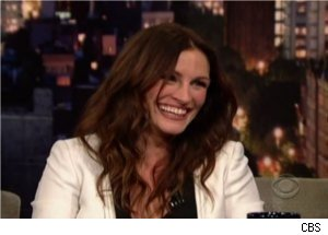 Julia Roberts Talks Varicose Veins on 'Late Show'