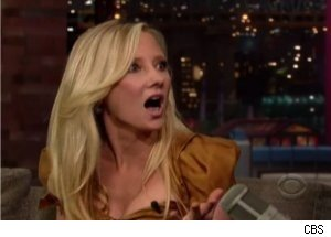 Anne Heche Talks Robbery on 'Late Show'
