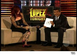 George Lopez Picks a Tattoo, With Some Help From Kat Von D