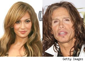Jennifer Lopez, Steven Tyler