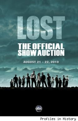 The official 'Lost' auction is offering 1034 items from the show.