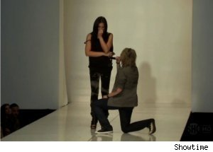 Mikey Koffman Proposes on 'The Real L Word'