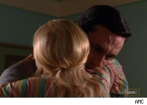Don says goodby to Anna on 'Mad Men' - 'The Good News'