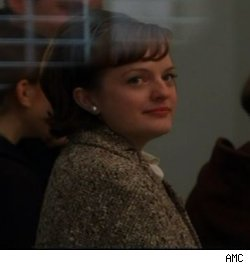 Peggy and Pete share a glance on 'Mad Men' - 'The Rejects' on AMC