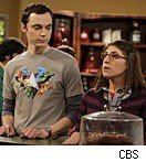 Jim Parsons &amp; Mayim Bialik on 'The Big Bang Theory'