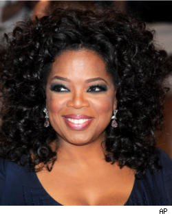 Oprah Winfrey arrives at the Metropolitan Museum of Art Costume Institute gala, New York