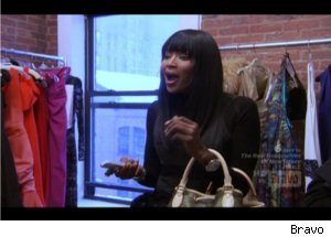 Angry Naomi Campbell on 'Rachel Zoe Project'