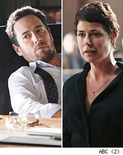 Rob Morrow and Maura Tierney, 'The Whole Truth'