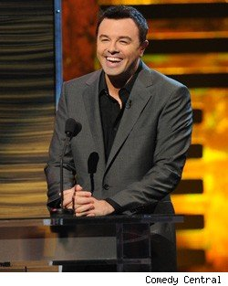 Seth MacFarlane roasts David Hasselhoff on Comedy Central