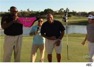 'Shaq vs.' Charles Barkley Play Golf