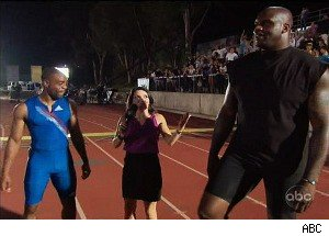 Can Shaquille O'Neal Outrace the Fastest Man in the World?