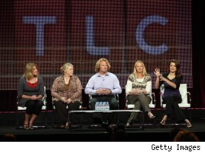 Cast of TLC's 'Sister Wives' at Summer 2010 TCAs