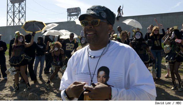 Spike Lee filming 'If God is Willing and Da Creek Don't Rise' for HBO