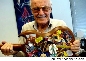 Comic book legend Stan Lee t