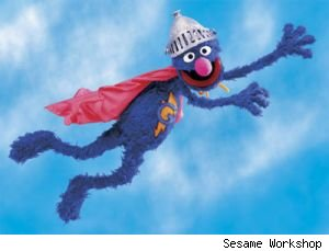 Grover will be getting his own preschool series next season titled 'Super Grover 2.0'