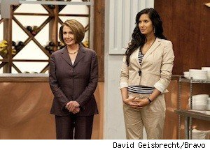 Top Chef Padma Lakshmi, Nancy Pelosi