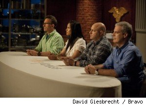 The judges table on 'Top Chef' - 'Making Concessions'