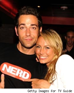 Zachary Levi and Stacy Keibler