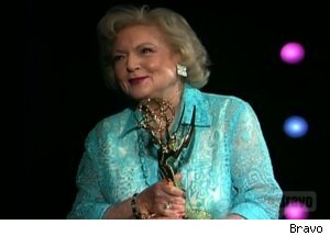 Betty White Gets Emmy on 'Actors Studio'